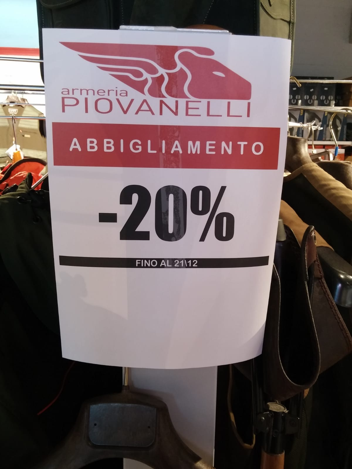 """""""Caccia"""" al bollino in Armeria Piovanelli! Giorni Shock!!!"""